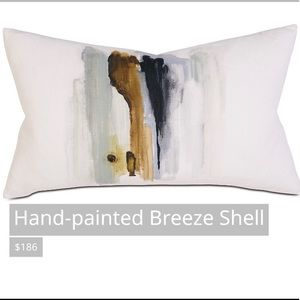 Thom Filicia Accents Handpainted Breeze Shell Pillow Poshmark